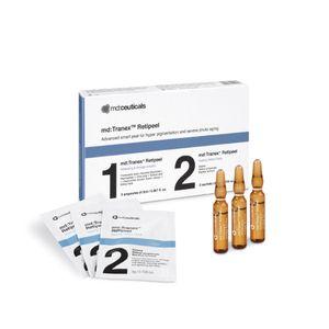 Md Ceuticals - Tranex Retipeel Peeling Confezione 5 Fiale + 2 Maschere