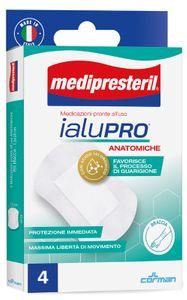 Medipresteril - Ialupro Medicazioni Anatomiche Braccia Confezione 4 Pezzi