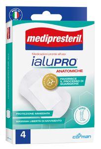 Medipresteril - Ialupro Medicazioni Anatomiche Gambe Confezione 4 Pezzi