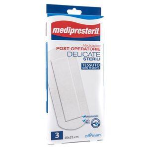 Medipresteril - Medicazione Post Operatoria Delicata 10X25 Cm Confezione 3 Pezzi