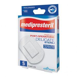 Medipresteril - Medicazioni Post-Operatorie Delicate 7,5X5 cm Confezione 5 Pezzi