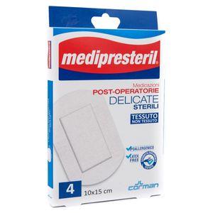 Medipresteril - Medicazioni Post-Operatorie 10X15cm Confezione 4 Pezzi