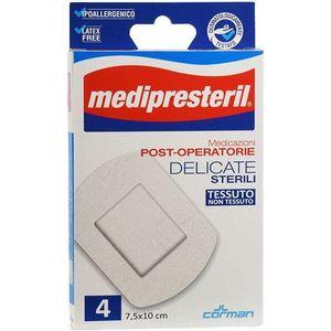 Medipresteril - Medicazioni Post-Operatorie Delicate 7,5X10 cm Confezione 4 Pezzi