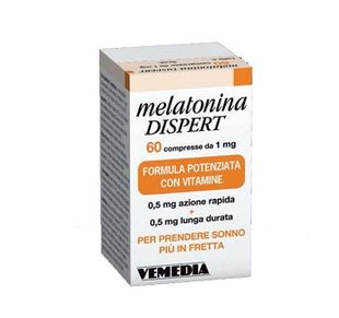 Melatonina Dispert - 1 Mg Confezione 60 Compresse