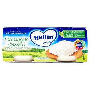 Mellin - Baby Formaggino Classico Confezione 4X80 Gr