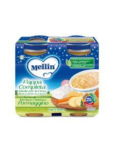 Mellin - Cena Completa Pasta Verdura e Formaggio Confezione 2X200 Gr