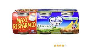 Mellin - Omogeneizzato Banana Confezione 6X100 Gr
