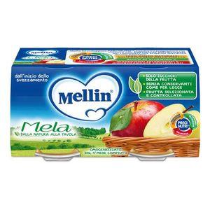 Mellin - Omogeneizzato Mela Confezione 2X100 Gr