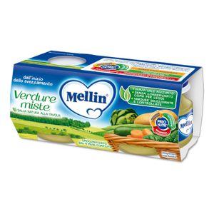 Mellin - Omogeneizzato Verdure Miste Confezione 2X80 Gr