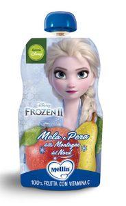 Mellin - Pouch Mela Pera Disney Frozen Confezione 110 Gr