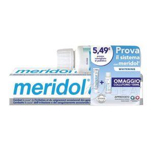 Meridol - Special Pack Whitening Dentifricio + Collutorio Confezione 2 Pezzi