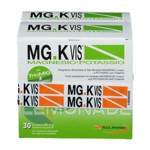 Mg K Vis - Magnesio e Potassio Lemonade Confezione 30 Bustine