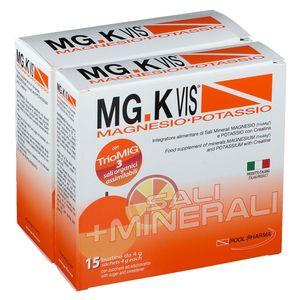 Mg K Vis - Magnesio e Potassio Orange Confezione 30 + 15 Bustine