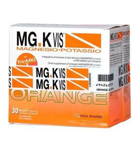 Mg K Vis - Magnesio e Potassio Orange Confezione 30 Bustine