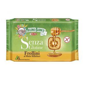 Mulino Bianco - Frollini Al Miele Millefiori Senza Glutine Confezione 250 Gr