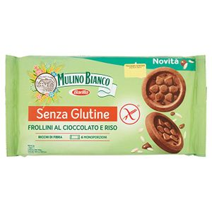 Mulino Bianco - Frollini Cioccolato e Riso Confezione 250 Gr