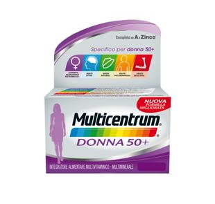 Multicentrum - Donna 50+ Confezione 60 Compresse
