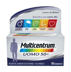 Multicentrum - Uomo 50+ Confezione 60 Compresse