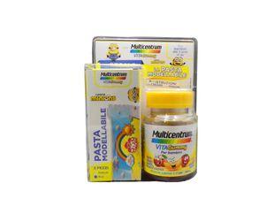 Multicentrum - Vitagummy Confezione 30 Caramelle + Omaggio Pasta Modellabile Minion