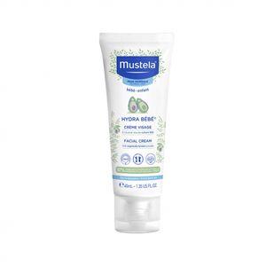 Mustela - Hydra Bebè Crema Viso 24H Confezione 40 Ml