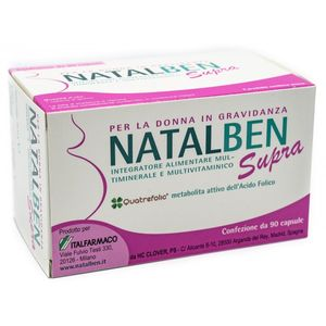 Natalben - Supra Confezione 90 Capsule