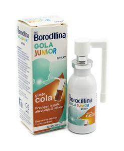 Neoborocillina - Gola Junior Spray Gusto Cola Confezione 20 Ml