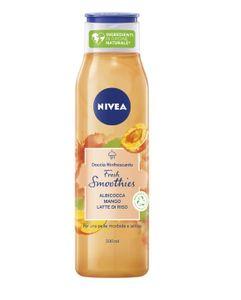 Nivea - Doccia Rinfrescante Fresh Smoothies Albicocca E Mango Confezione 300 Ml