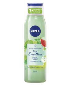 Nivea - Doccia Rinfrescante Fresh Smoothies Anguria E Menta Confezione 300 Ml
