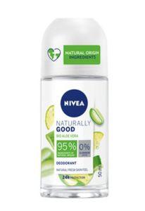 Nivea - Naturally Good Bio Aloe Vera Deodorante Roll On Confezione 50 Ml