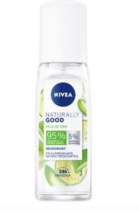 Nivea - Naturally Good Bio Aloe Vera Deodorante Spray Confezione 75 Ml