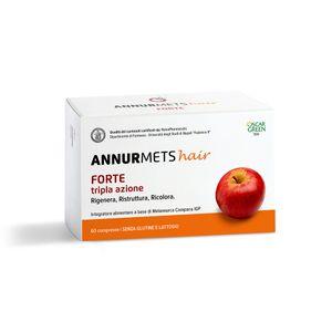 Nutraceutical & Drugs - Annurmets Hair Forte Tripla Azione Confezione 60 Compresse