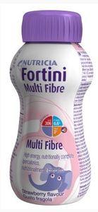 Nutricia - Fortini Multi Fibre Gusto Fragola Confezione 200 Ml