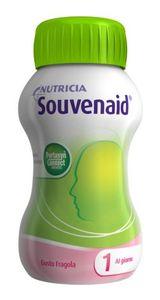 Nutricia - Souvenaid Gusto Fragola Confezione 4x125 Ml