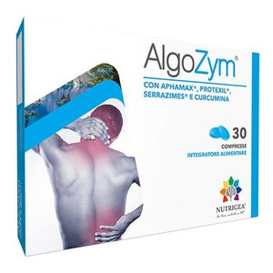 Nutrigea - AlgoZym Confezione 30 Tavolette (Scadenza Prodotto 28/03/2021)