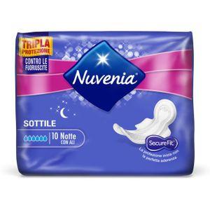 Nuvenia - Ultra Notte Con Ali Confezione 10 Pezzi