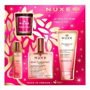 Nuxe - Cofanetto La Fête En Rose Confezione 4 Pezzi