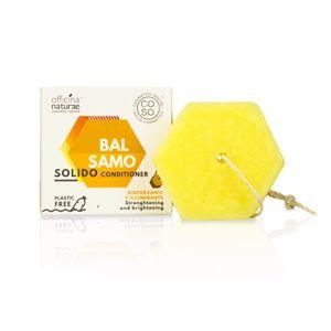 Officina Naturae - Balsamo Solido Rinforzante Ed Illuminante Confezione 64 Gr