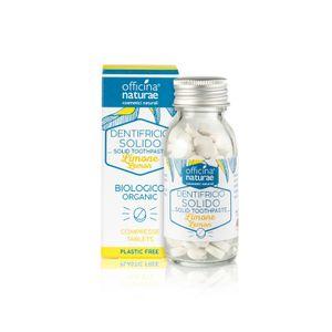 Officina Naturae - Dentifricio Limone In Pastiglie Confezione 115 Pezzi