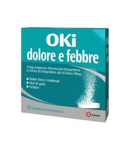 Oki - Dolore e Febbre Confezione 12 Compresse Effervescenti