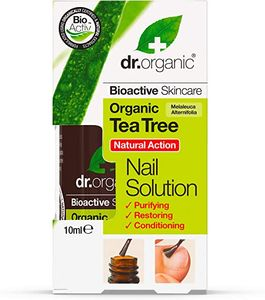 Optima Naturals - Dr Organic Tea Tree Nail Confezione 10 Ml
