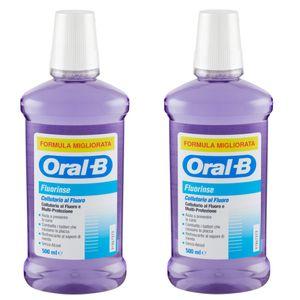 Oral B - Bipacco Collutorio Fluorinse Confezione 2X500 Ml