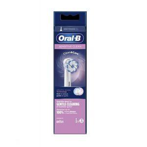 Oral B - Refill Eb 60 Sensitive Clean Testine Di Ricambio Confezione 3 Pezzi
