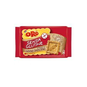 Oro Saiwa - Biscotti Grano Saraceno Senza Glutine Confezione 240 Gr