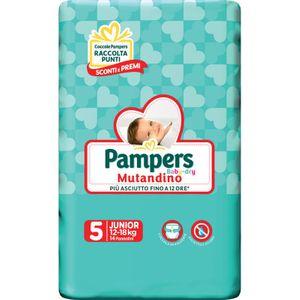 Pampers - Baby Dry Mutandino Junior Taglia 5 Confezione 14 Pezzi