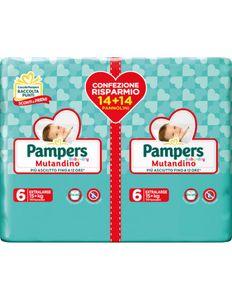 Pampers - Baby Dry Mutandino XL Taglia 6 Confezione 28 Pezzi