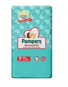 Pampers - Baby Dry Mutandino XXL Taglia 7 Confezione 14 Pezzi