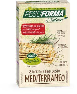 Pesoforma- Nature Pasto Gusto Mediterraneo Confezione 8X30 Gr