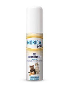 Norica - Pet Deo Igienizzante Per Cani e Gatti Confezione 100 Ml
