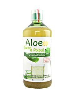 Pharmalife - Aloe Vera 100% Succo E Polpa Confezione 1000 Ml