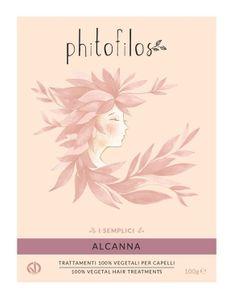 Phitofilos - Alcanna Tonalizzante Viola Confezione 100 Gr (Scadenza Prodotto 30/06/2021)